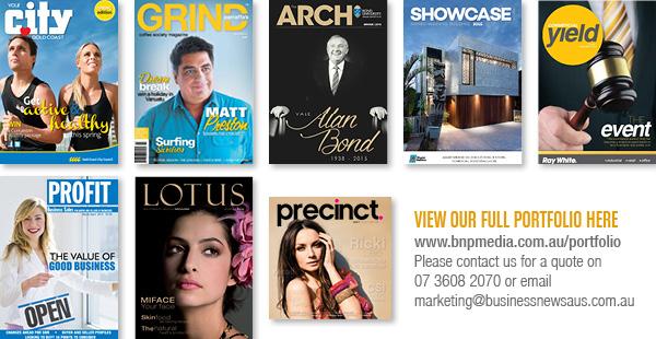 Business News Australia Custom Magazine Portfolio