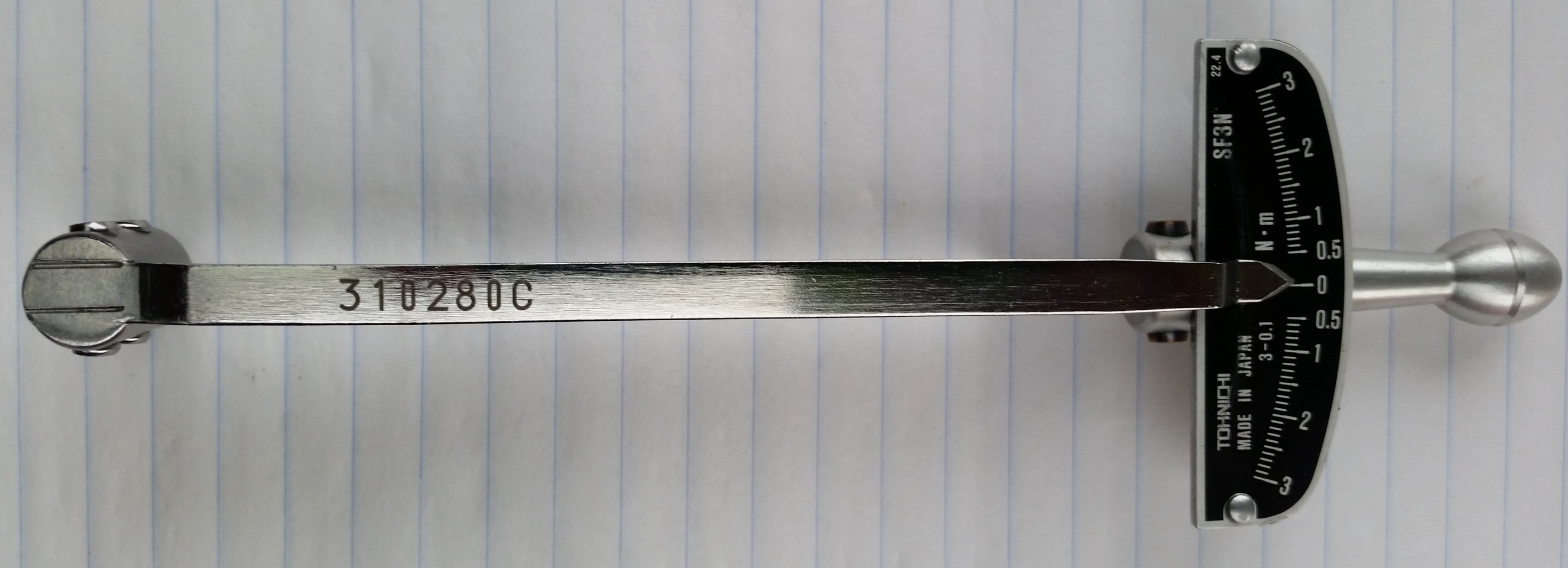Beam Style Wrench