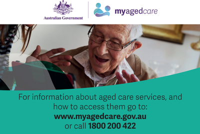 My Aged Care logo