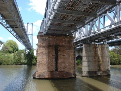 Brisbane River Bridges,Cruising to Bremer River