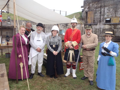 Fort Lytton History Alive,Lady Brisbane,Fort Lytton