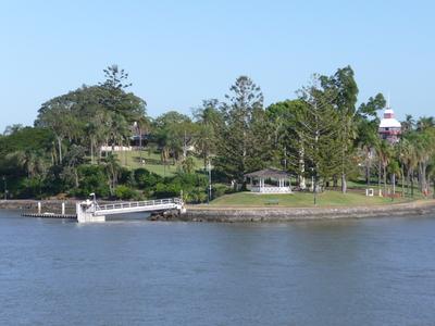 Newstead Park, Brisbane River