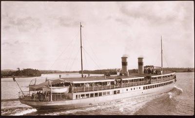 SS Koopa, Bribie Island, Moreton Bay