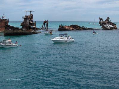 Tangalooma Wrecks, Lady Brisbane Cruises, Brisbane Cruises, Moreton Bay