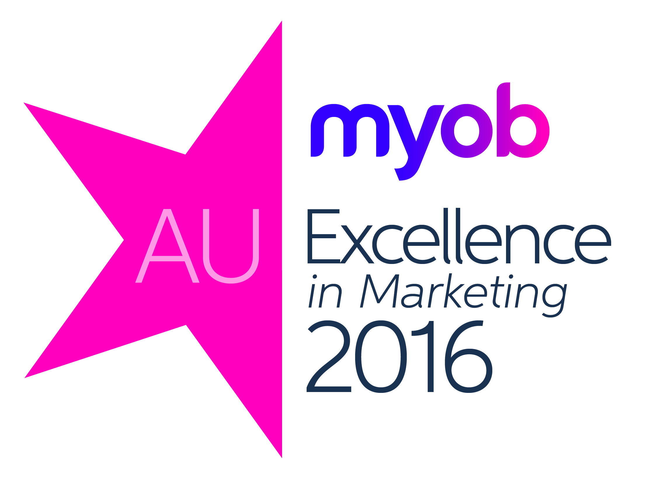 Image result for MYOB excellence in marketing 2016