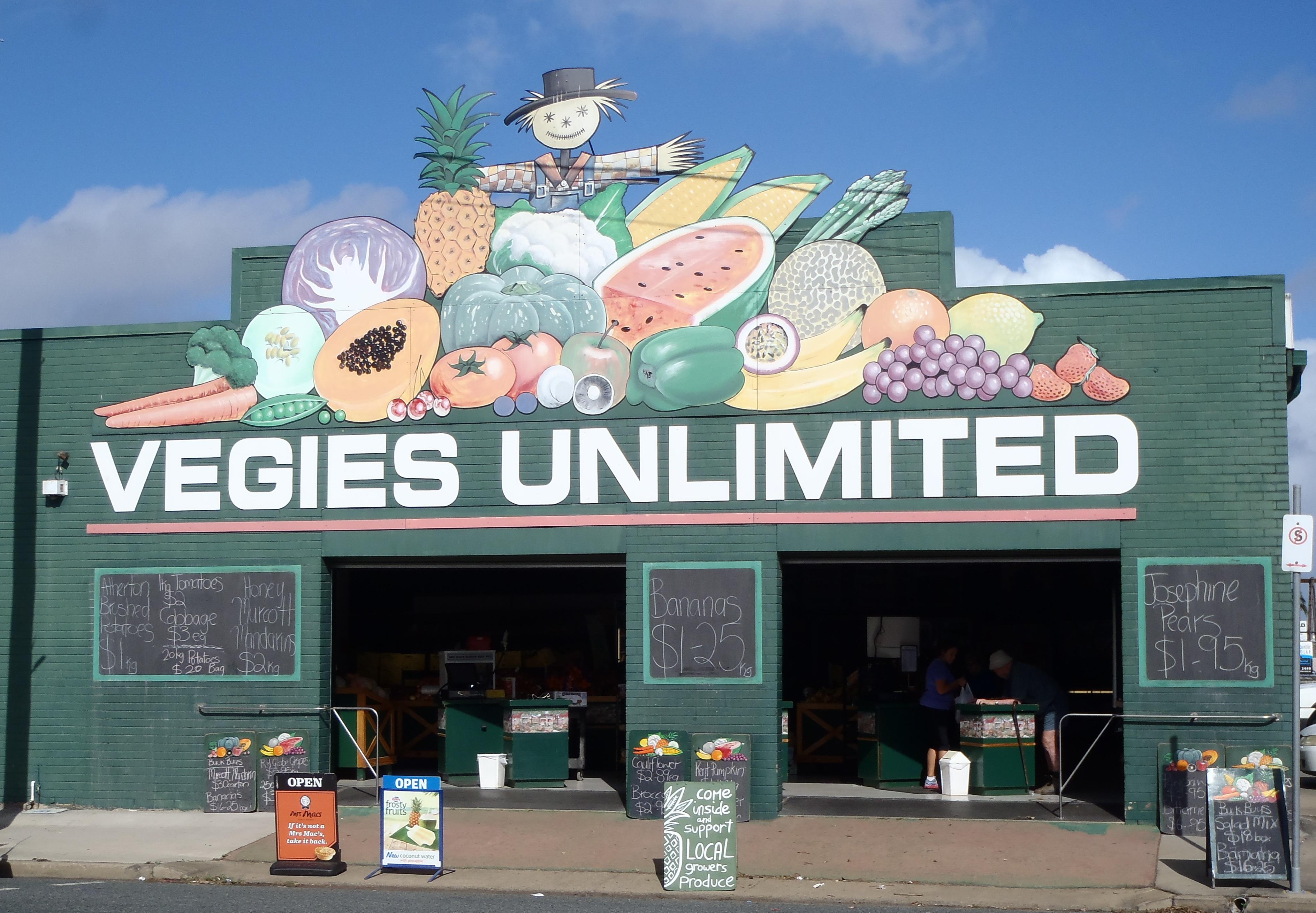 Vegies Unlimited Retail Store 303 Nebo Road Mackay