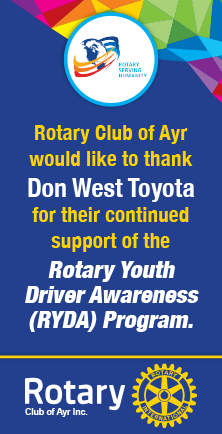 Thanks to Don West Toyota Ayr