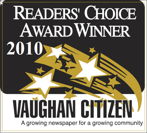 The Dance Zone readers choice award 2010 for best dance studio Vaughan