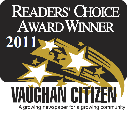 The Dance Zone readers choice award 2011 for best dance studio Vaughan