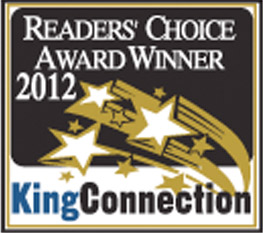 The Dance Zone readers choice award 2012 for best dance studio Vaughan