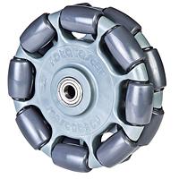 Rotacaster 125mm double omni-wheel