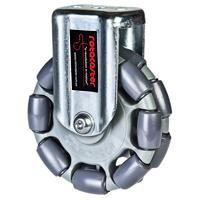 Rotacaster double omni-wheel with mount