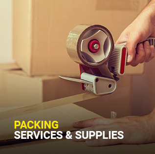 High Energy transport packing services and supplies