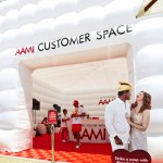 Inflatable cube entrance at the AAMI Classic
