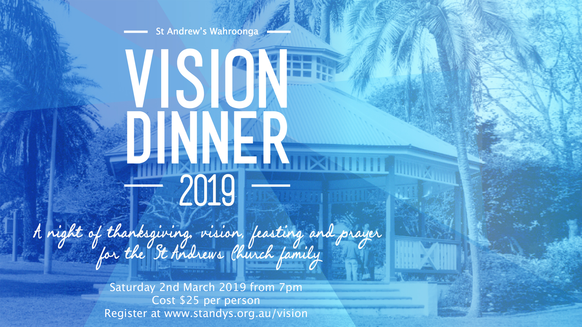 Vision Dinner 2019 | St Andrew's Anglican Church Wahroonga