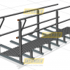Defender™ Walkway -Levelled with Double Guardrail