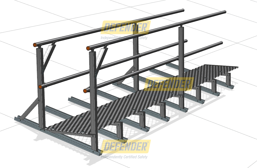 Walkways System Height Safety Walkways Roof Walkway