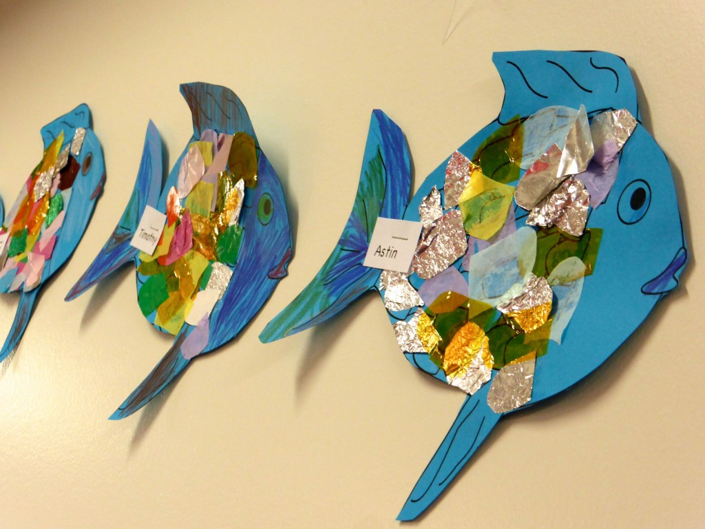 Rainbow Fish class display