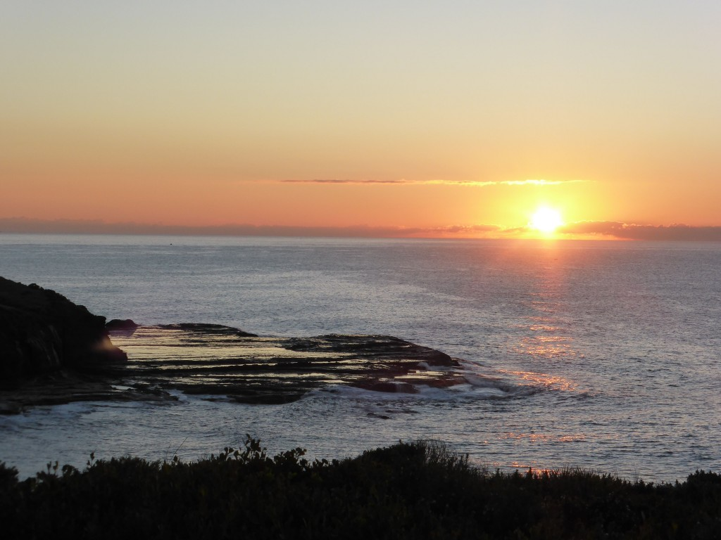 sunrise headland