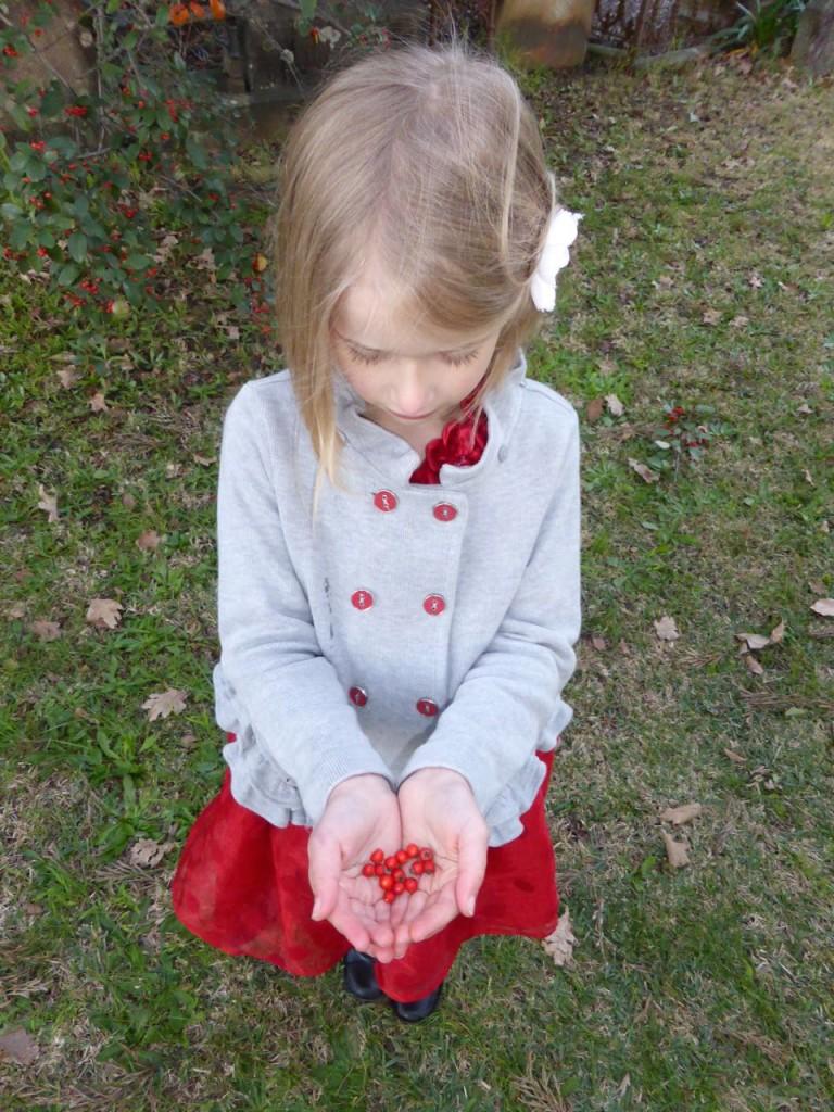 Imogen handful berries