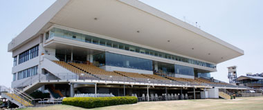 Main Grandstand at Doomben Racecourse