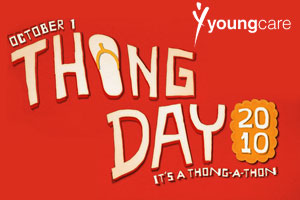 Races.com.au Supports Youngcare Australia Thong Day
