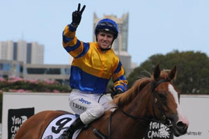 Tommy Berry on Karuta Queen
