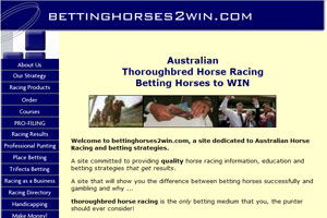 Betting Horses 2 Win