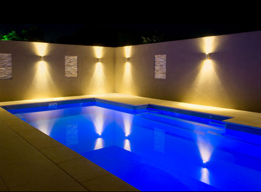 Pool Lights Hints by Rainwise Pools Melbourne