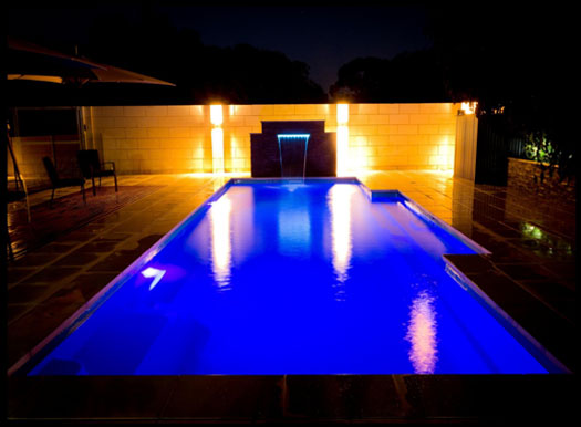 Rainwise Pools Melbourne - Pool lighting hints and tips Pool Tips & Info