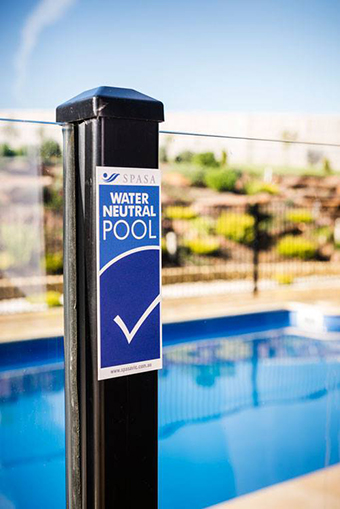 Make a splash without wasting a drop water neutral pools - Swimming pool evaporation control ...