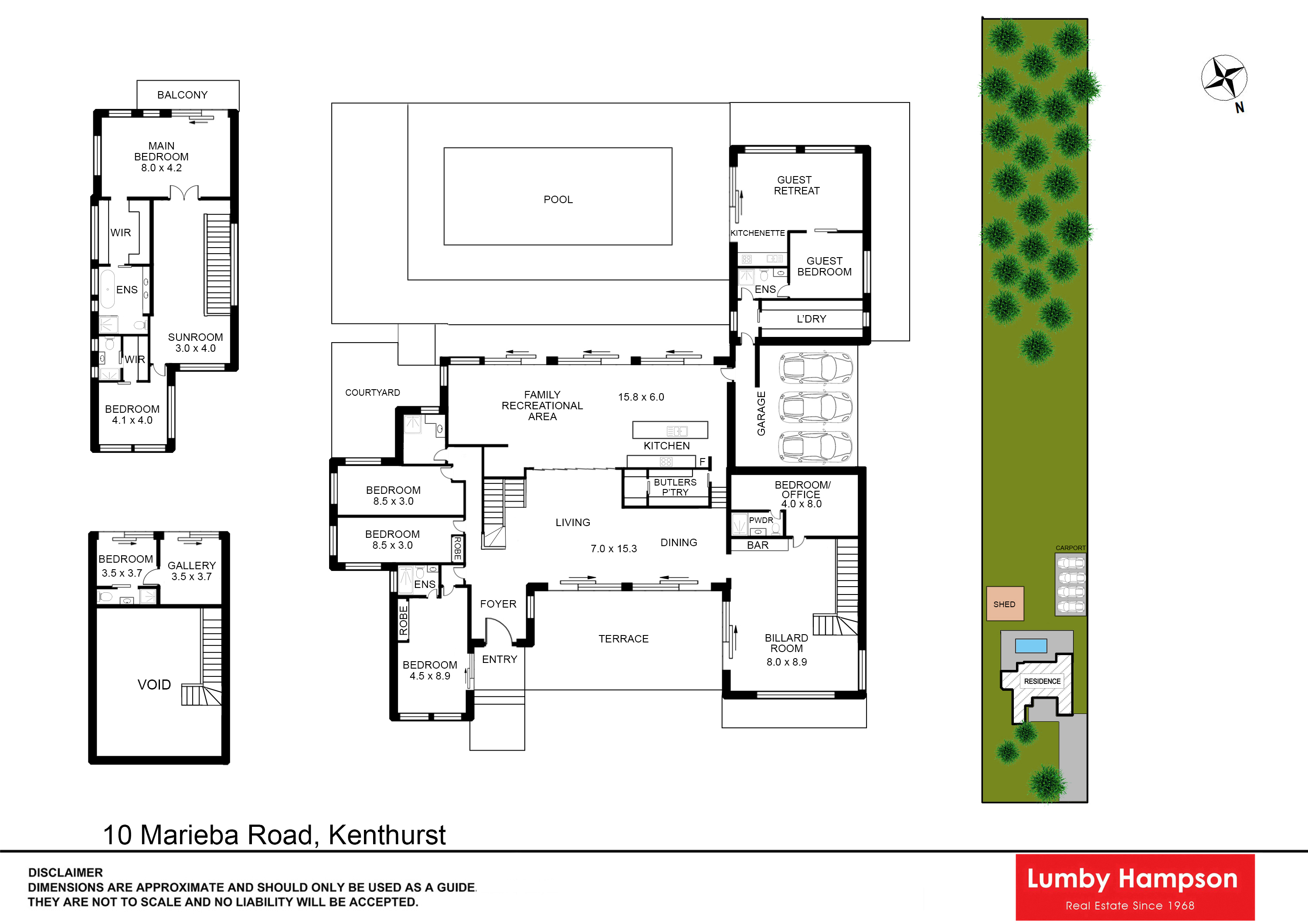 Lumby hampson 10 marieba road kenthurst nsw 2156 for 15 st judes terrace dural