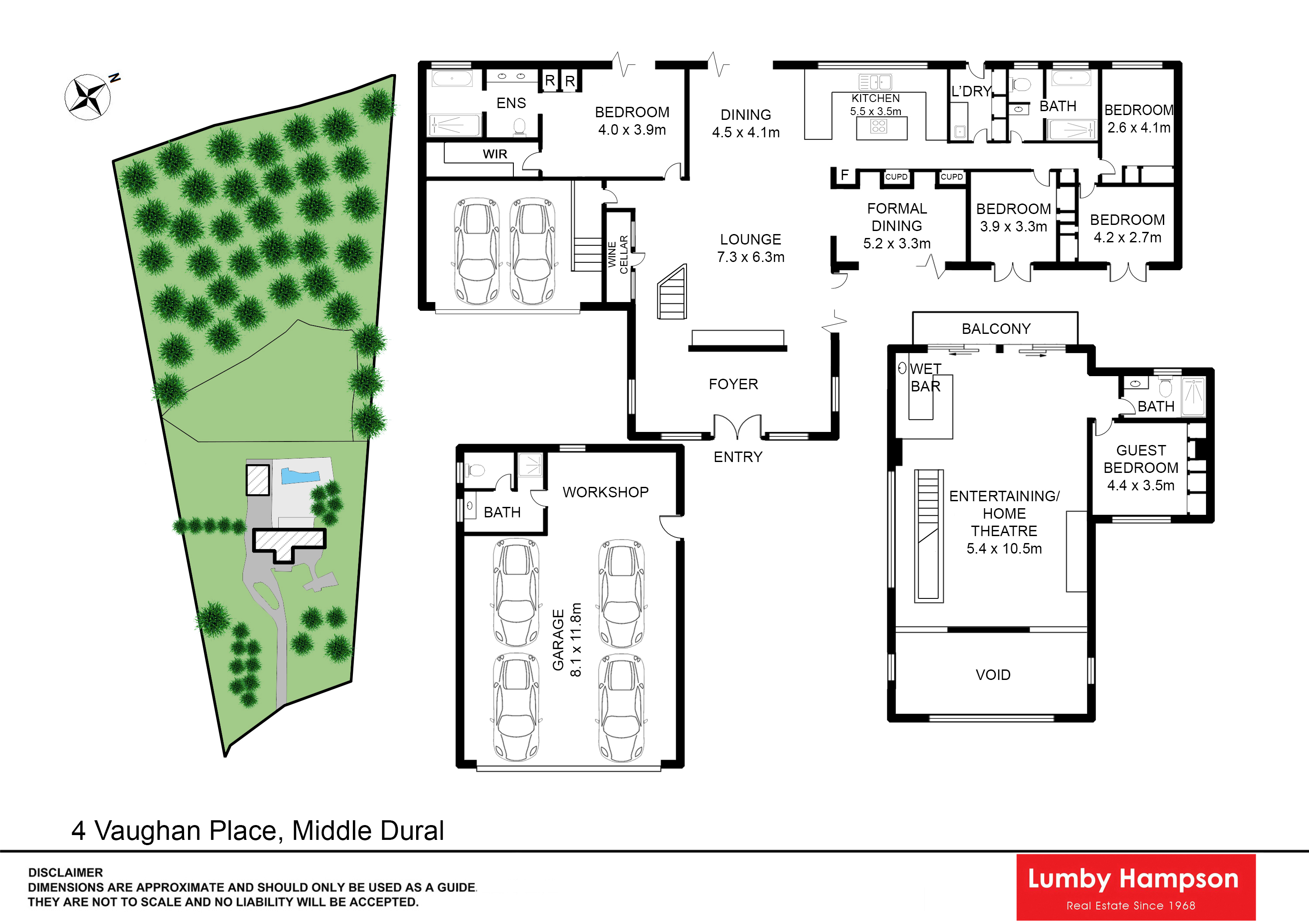 Lumby hampson 4 vaughan place dural nsw 2158 for 15 st judes terrace dural