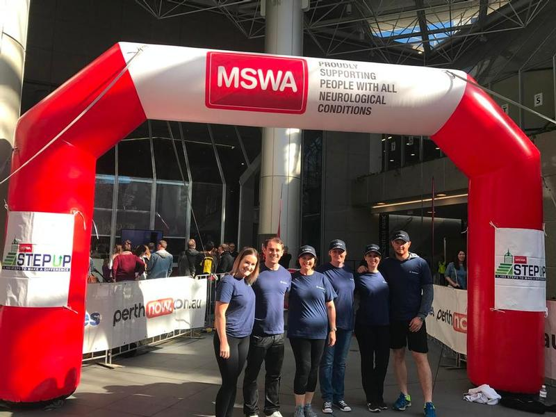 True Blue Volunteers & Step Up for MSWA