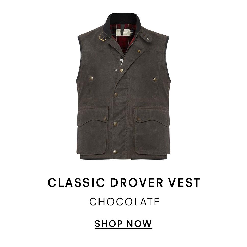 Classic Drover Vest