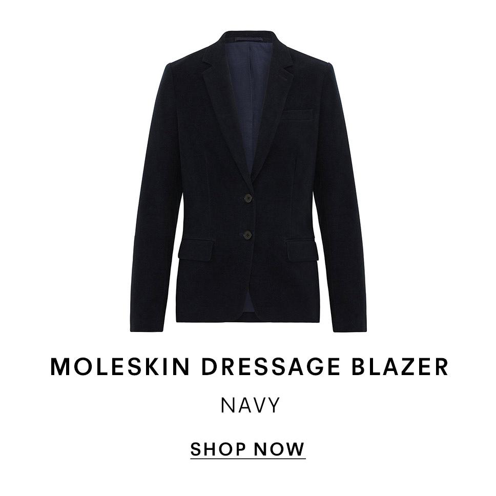 Moleskin Blazer
