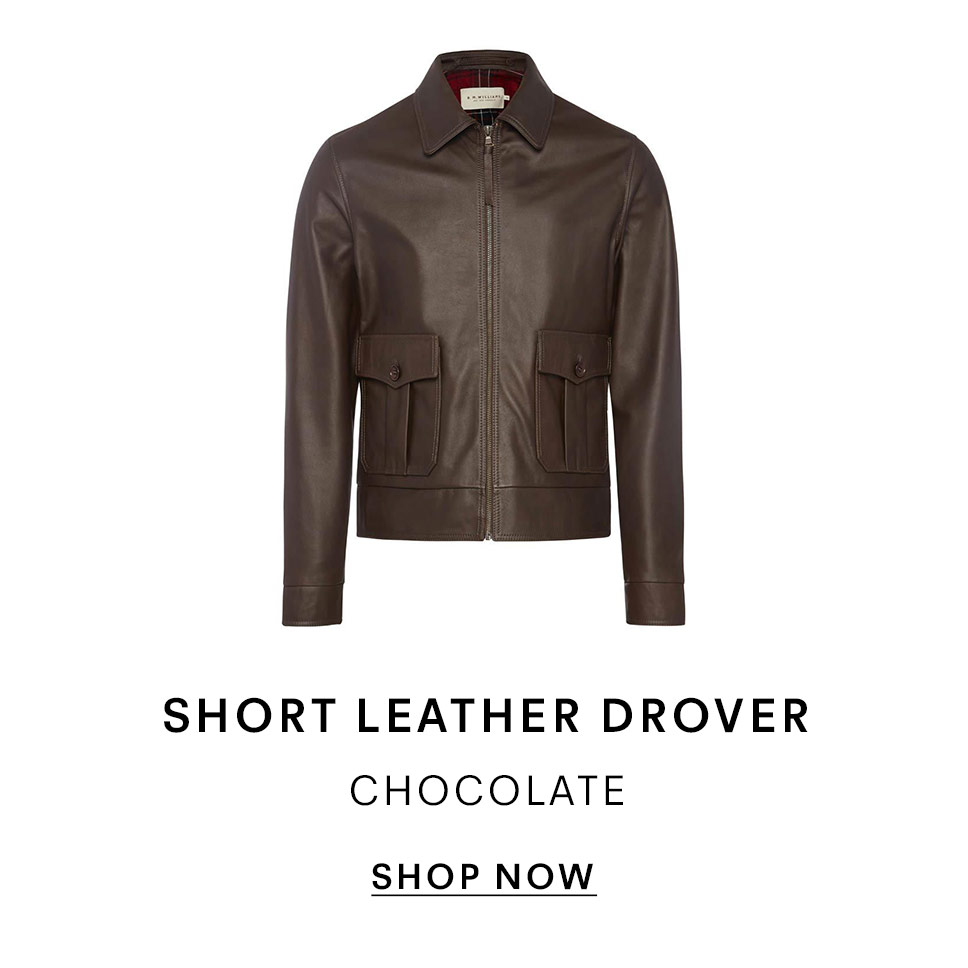 Short Leather Drover