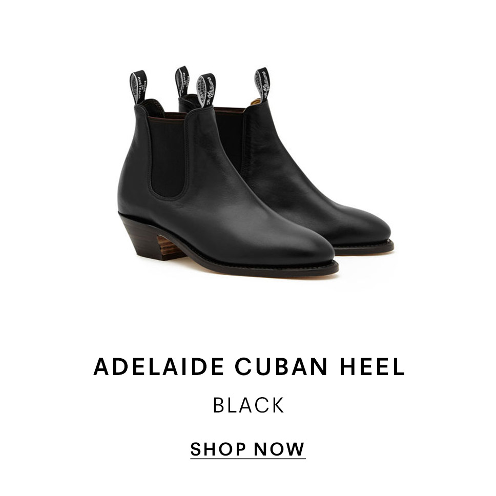 Adelaide Cuban Heel