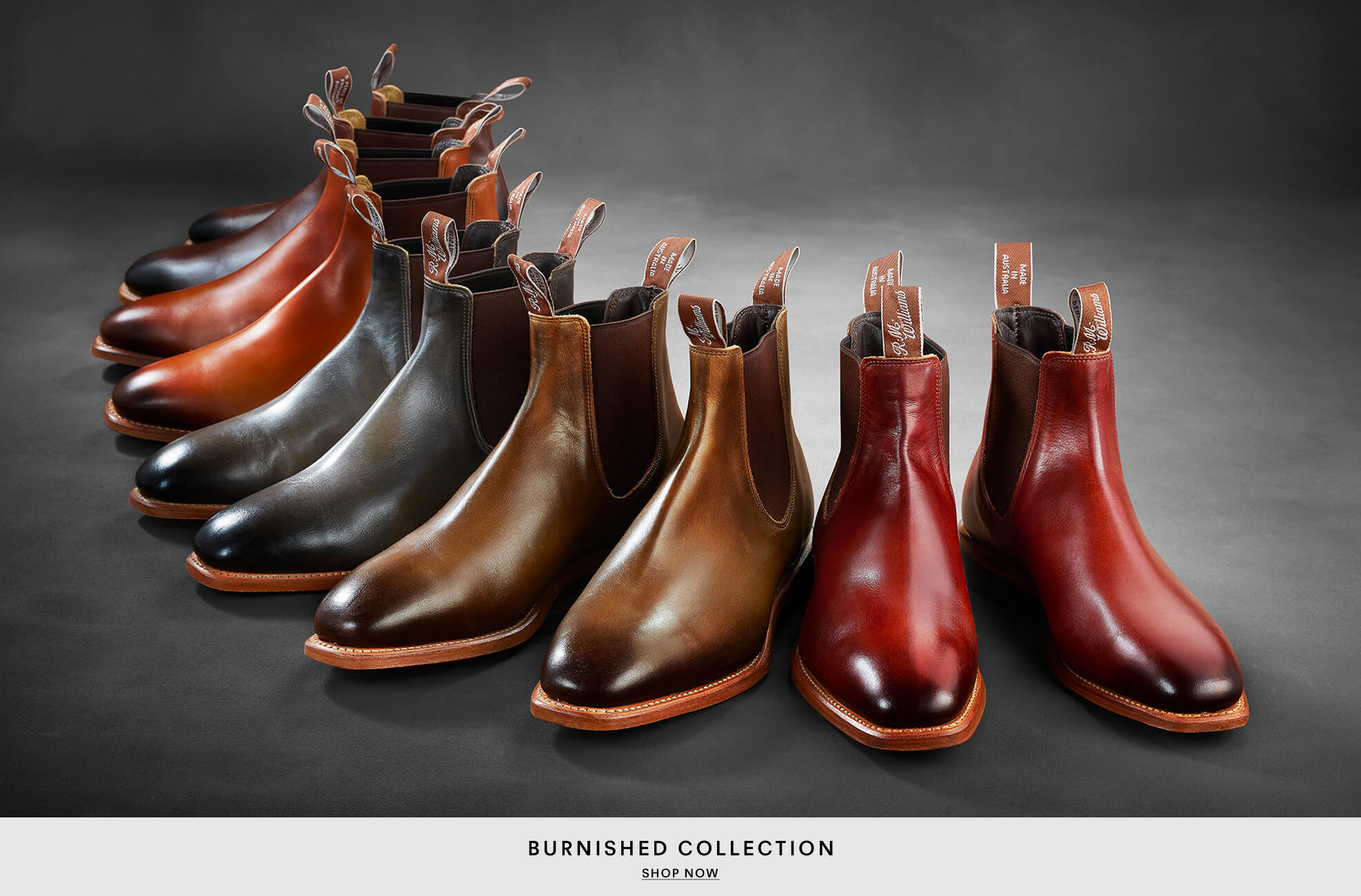 New Burnished Collection