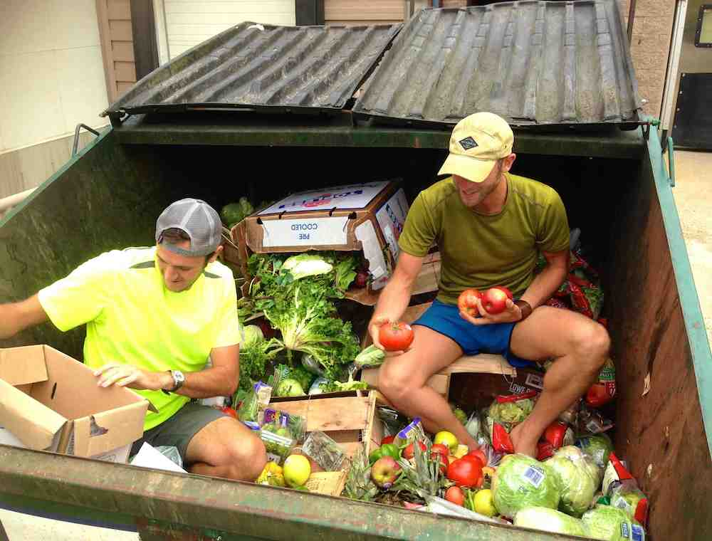 Dumpster Diving Whole Foods