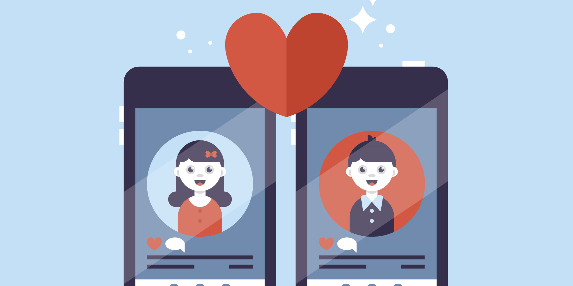 Facebook online dating application