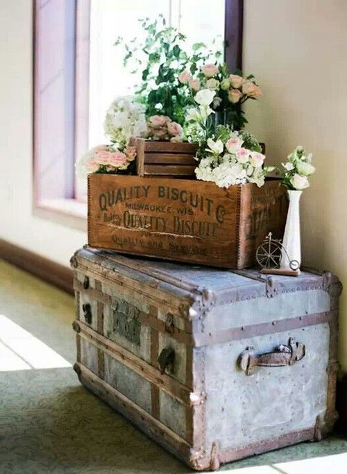 Chests, Boxes, Crates and Roses
