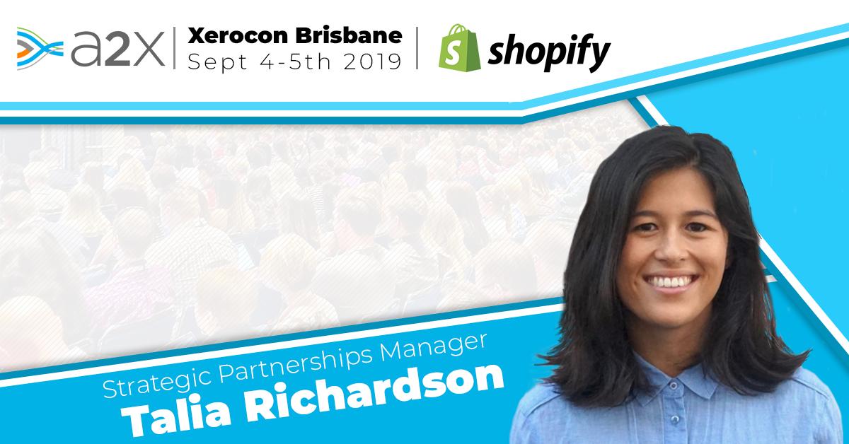 Talia Richardson from Shopify