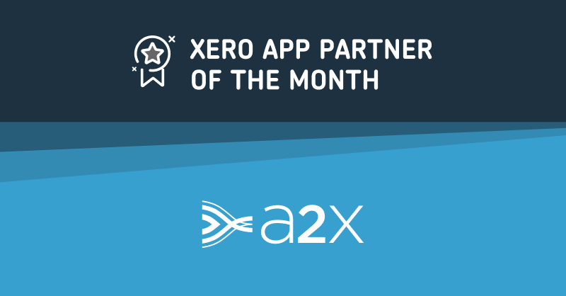 A2X has been named Xero's app partner of the month September 2019