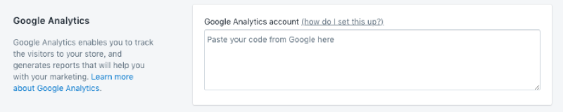 How to add Google Analytics to Shopify image 4