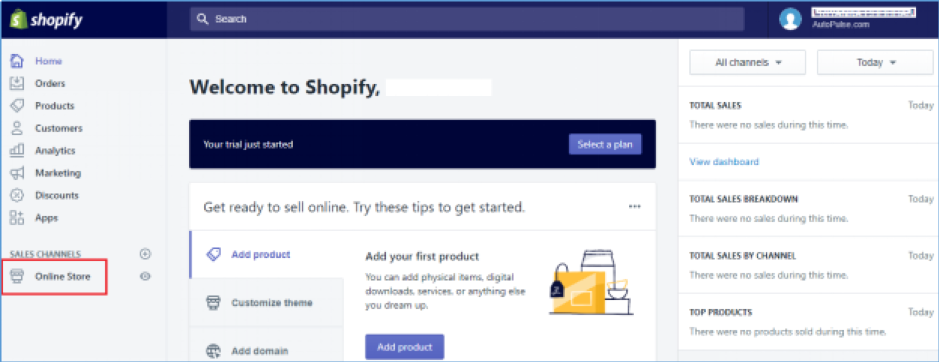 How to remove 'Powered by Shopify' from footer of your store screenshot 1