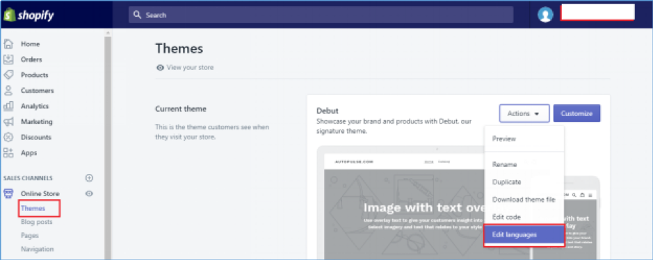 How to remove 'Powered by Shopify' from footer of your store screenshot 2