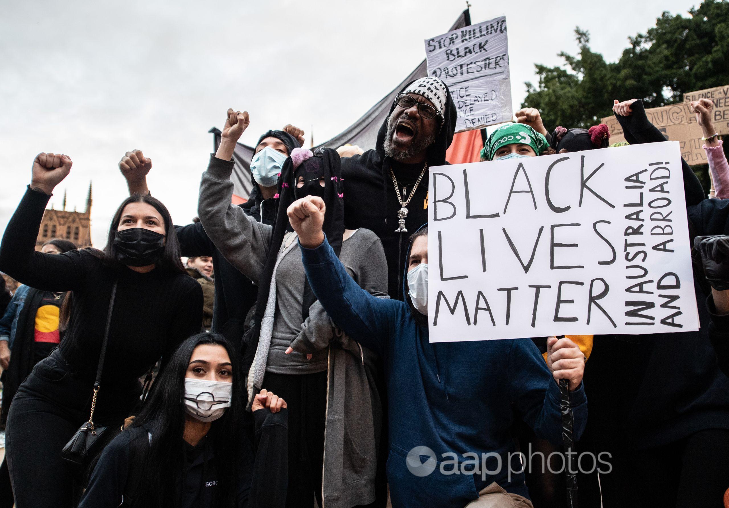 Sydney Black Lives Matter protest