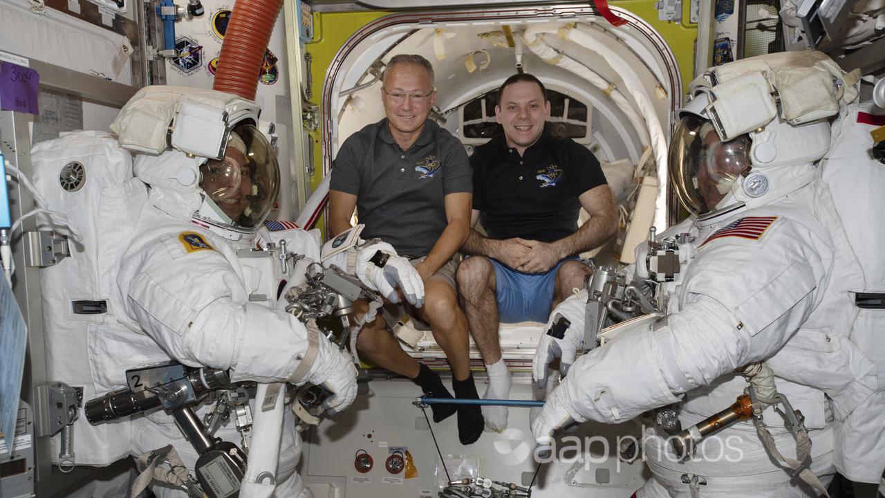 US astronauts pack up for rare splashdown – Education – Australian Associated Press