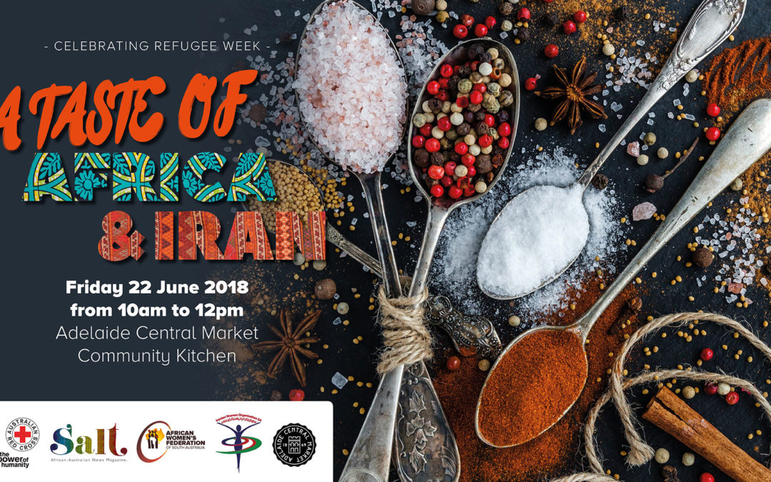 A Taste of Africa and Iran